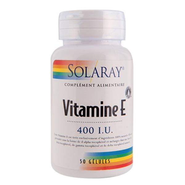 Solaray Vitamine E 400UI 268mg 50 softgels