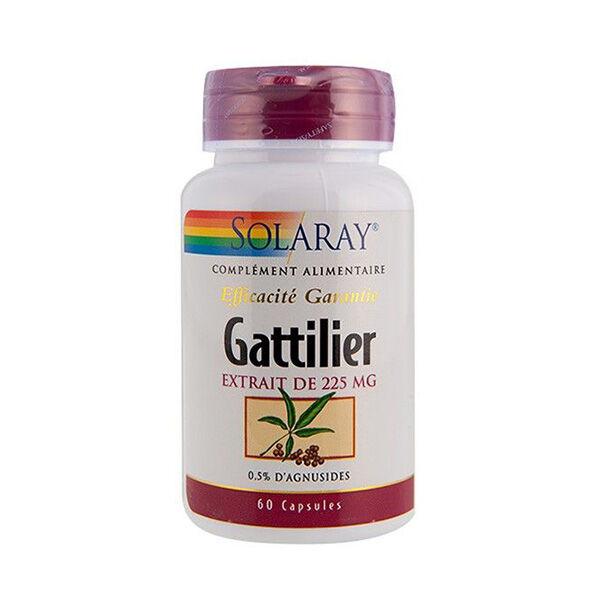 Solaray Gattilier 225mg 60 capsules