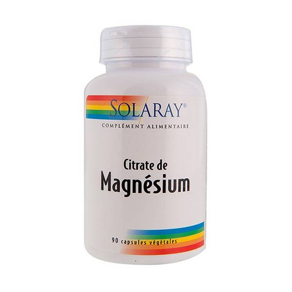 Solaray Magnésium 133,33mg 90 capsules végétales