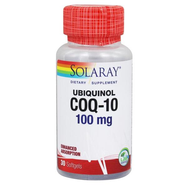 Solaray CoQ-10 100mg 30 capsules
