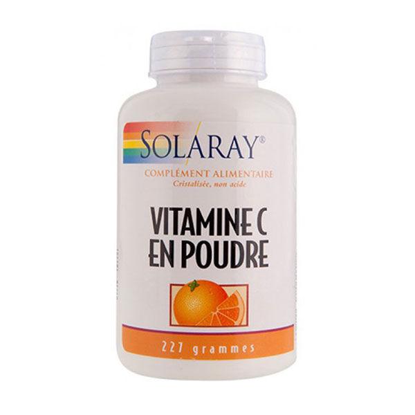 Solaray Vitamine C en Poudre Non Acide 227g
