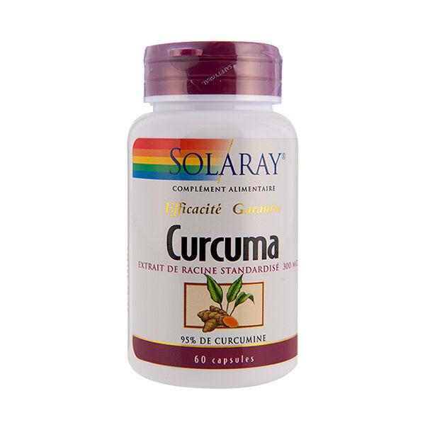 Solaray Curcuma 300mg 60 capsules