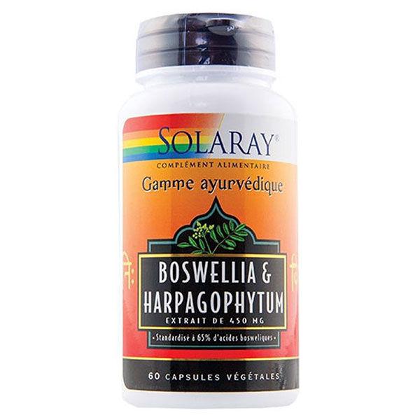 Solaray Boswellia et Harpagophytum 60 capsules végétales
