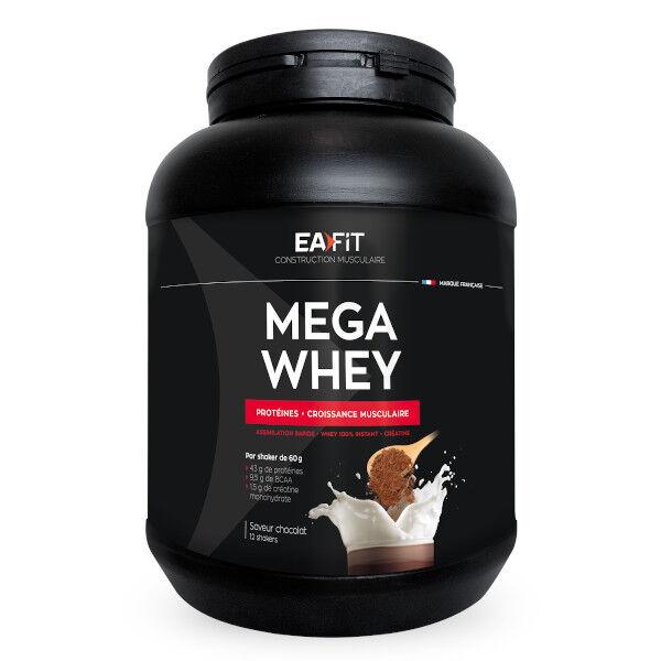 Eafit Mega Whey Goût Chocolat 750g