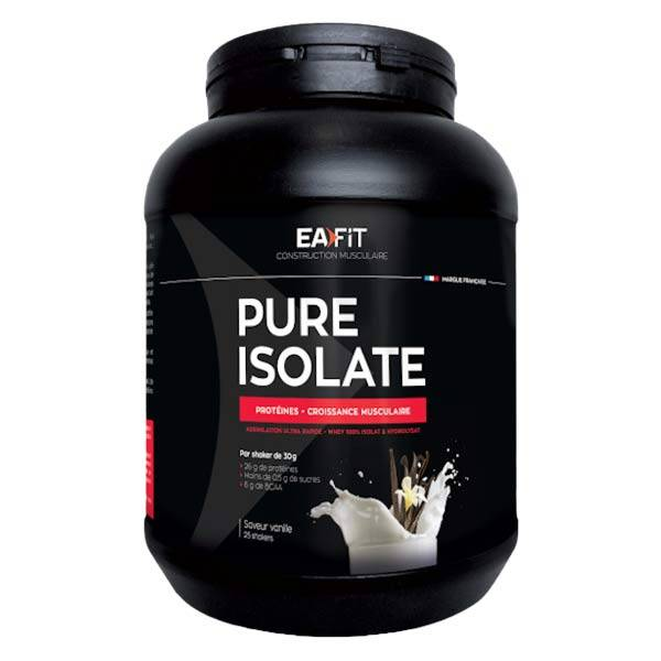 Eafit Pure Isolate Goût Vanille 750g