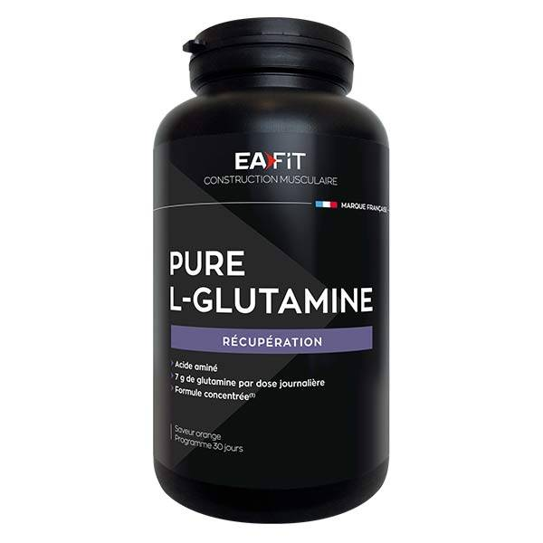 Eafit Pure L-Glutamine Goût Orange 243g