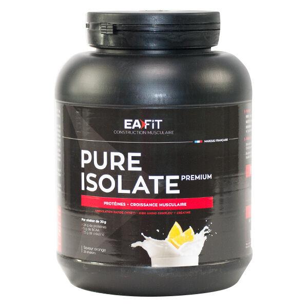 Eafit Pure Isolate Premium Goût Orange 750g