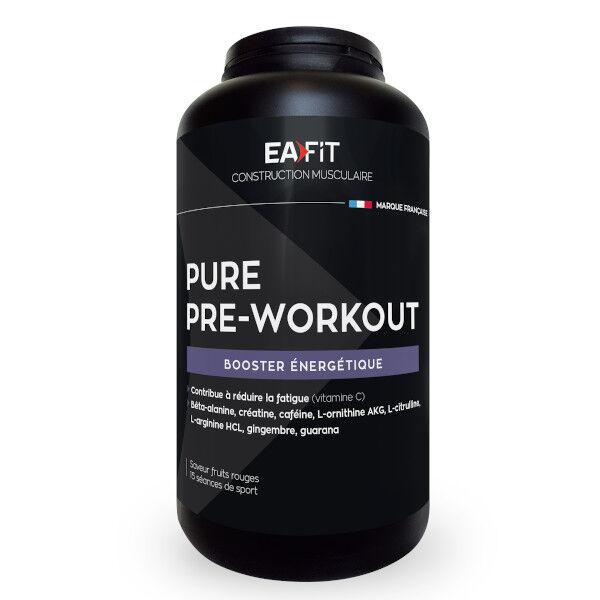 Eafit Pure Pre-Workout Saveur Fruits Rouges 330g