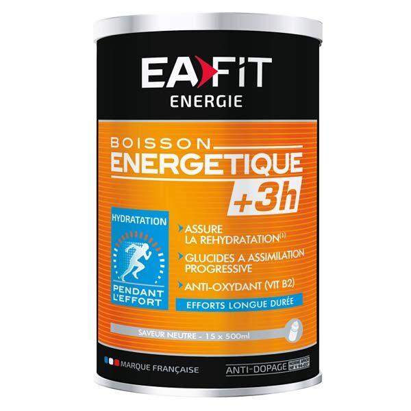Eafit Boisson Energétique +3H Goût Neutre 500g