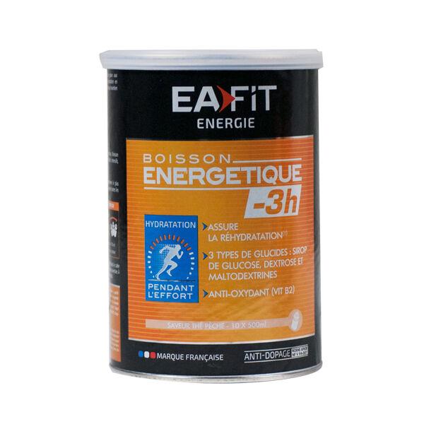 Eafit Boisson Energétique -3h Goût Thé Pêche 500g