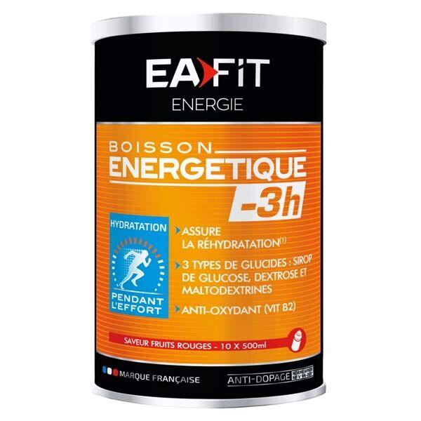 Eafit Boisson Energétique -3H Goût Fruits Rouges 500g