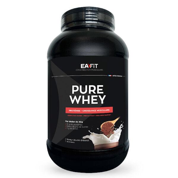 Eafit Pure Whey Saveur Double Chocolat 2.2kg