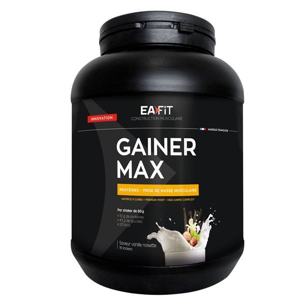 Eafit Gainer Max Vanille Noisette 1.1Kg