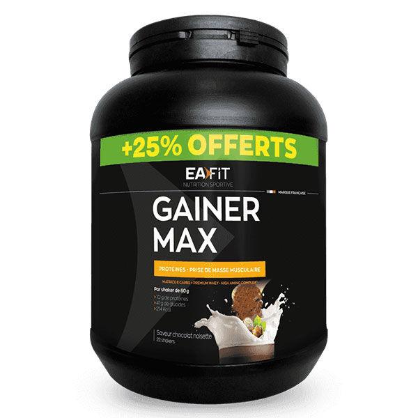 Eafit Gainer Max Chocolat Noisette 1.1kg + 25% Offerts
