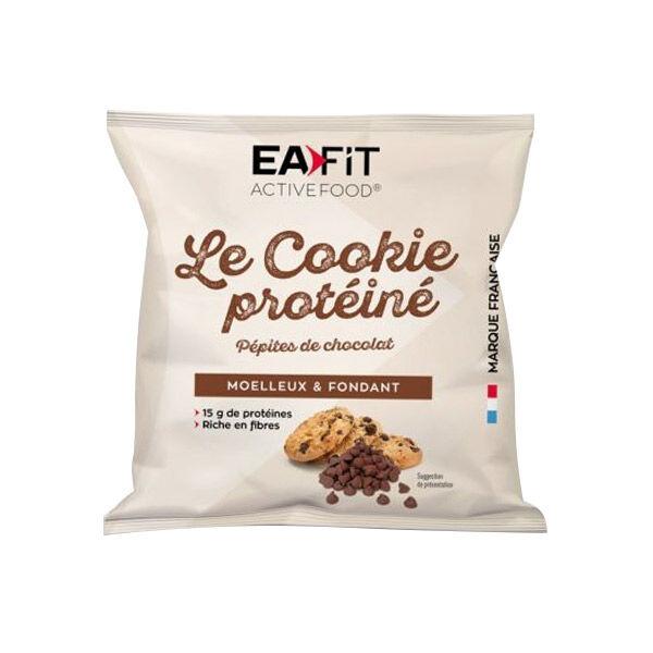 Foucaud Eafit Le Cookie Protéiné Pépites de Chocolat 50g