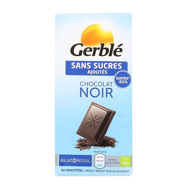 Gerblé sans Sucres Ajoutés Chocolat Noir 80g