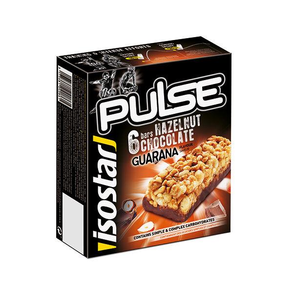 Isostar Barres Pulse Noisette / Chocolat 6 x 23g