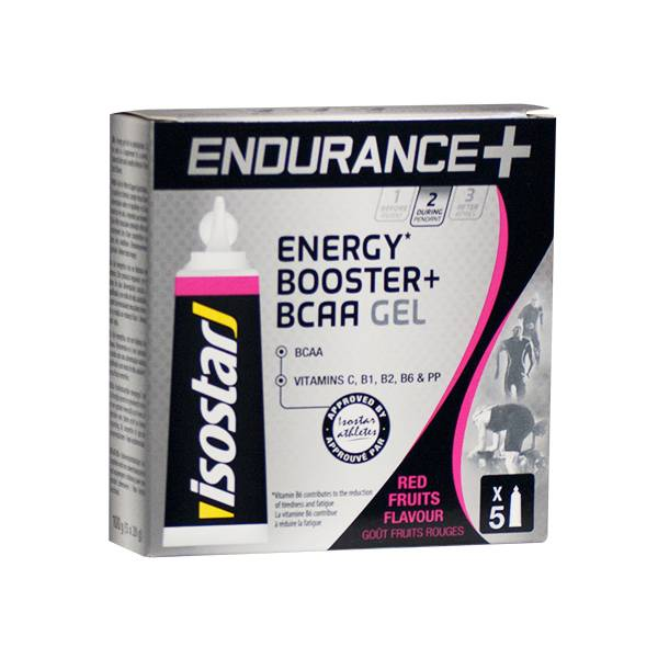 Isostar Endurance BCAA Fruits Rouges 5 x 20g