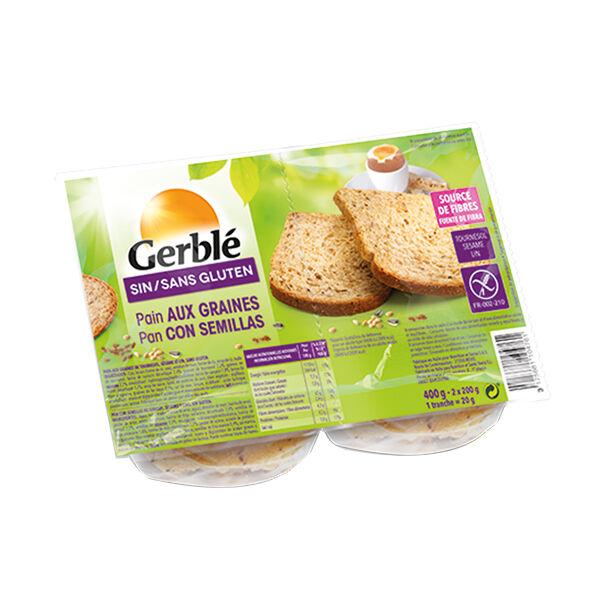 Gerblé Sans Gluten Pain aux Graines 400g