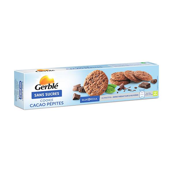 Gerblé Sans Sucres Cookie Cacao Pépites 130g