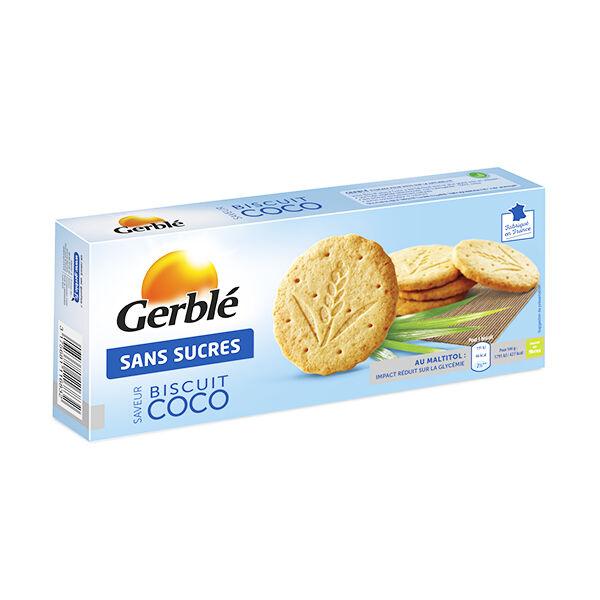 Gerblé Sans Sucres Biscuit Coco 132g