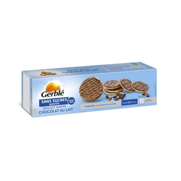 Gerblé Sans Sucres Ajoutés Biscuit Nappé Chocolat Au Lait 125g