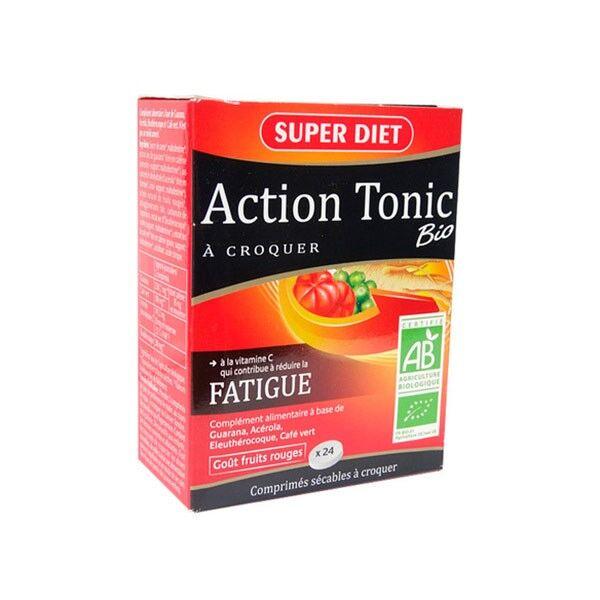 Super Diet Action Tonic Bio - 24 comprimés à croquer