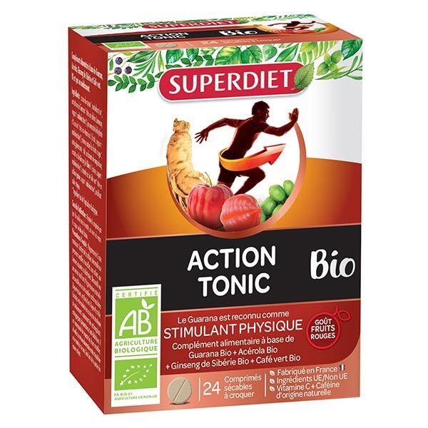 Superdiet Action Tonic Bio 24 comprimés à croquer