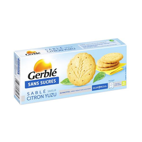 Gerblé Sans Sucres Sablé Citron Yuzu 132g