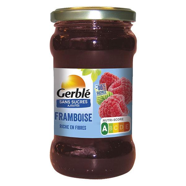 Gerblé Sans Sucres Ajoutés Confiture Framboise 320g