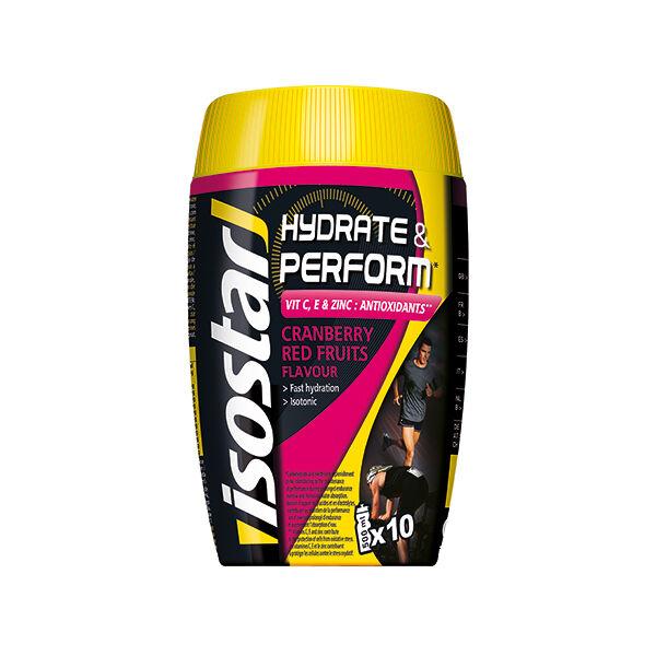 Isostar Hydrat & Perform Anti-Oxydant Poudre Cranberry / Fruits Rouges 400g