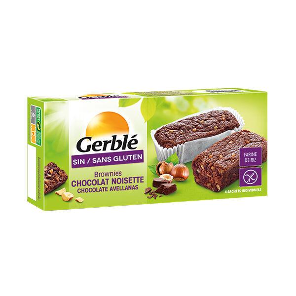 Gerblé Sans Gluten Brownies Chocolat Noisette 150g
