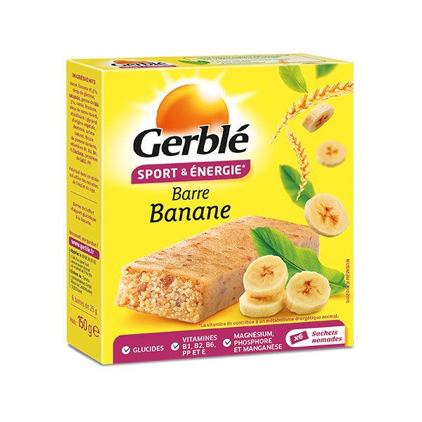 Gerblé Sport Barres Banane 6 x 25g