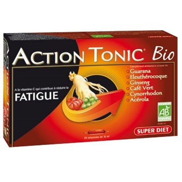 Super Diet Action Tonic Bio 20 ampoules de 15ml