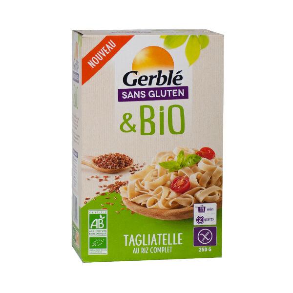Gerblé Sans Gluten Bio Tagliatelles au Riz Complet 250g