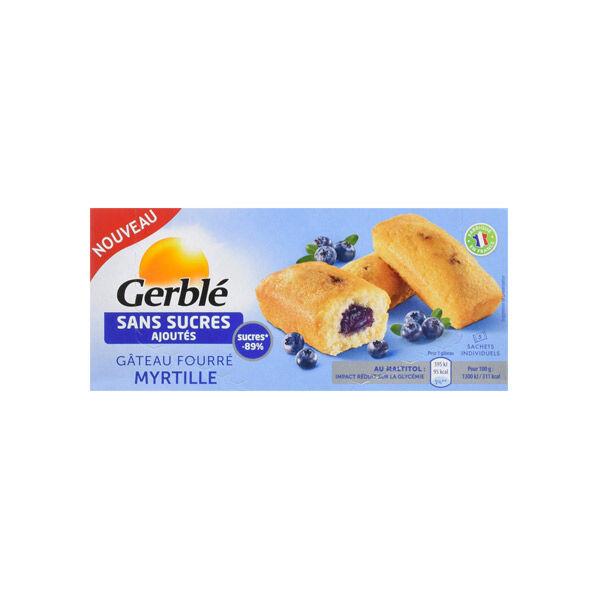 Gerblé sans Sucres Ajoutés Gâteau Fourré Myrtille 150g