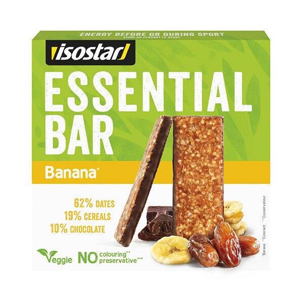 Isostar Barres Essential Banane 3 x 35g