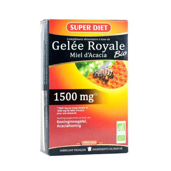 Super Diet Gelée Royale Bio 20 ampoules