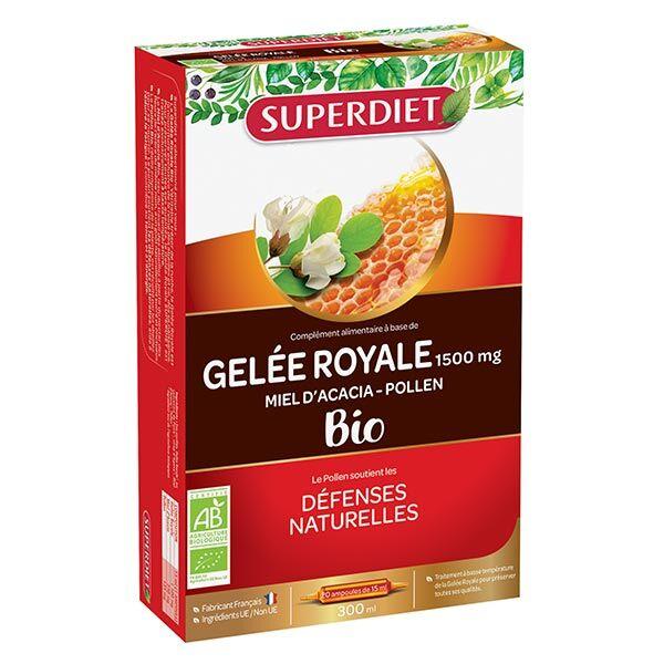 Superdiet Gelée Royale Bio 20 ampoules