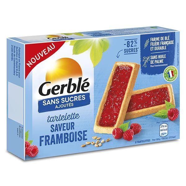 Gerblé Sans Sucres Ajoutés Tartelette Framboise 144g