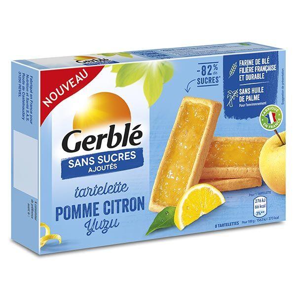 Gerblé Sans Sucres Ajoutés Tartelette Citron Yuzu 144g