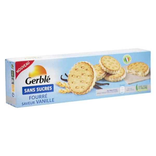 Gerblé Sans Sucres Fourré Vanille 185g