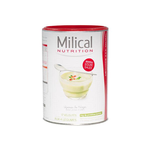 Milical Nutrition Soupe Légumes du Potager Format Eco 17 portions