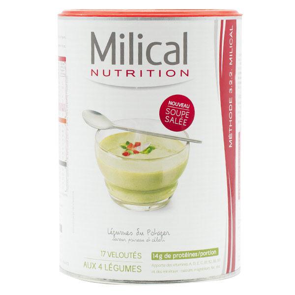 Milical Nutrition Soupe Légumes du Potager 544g