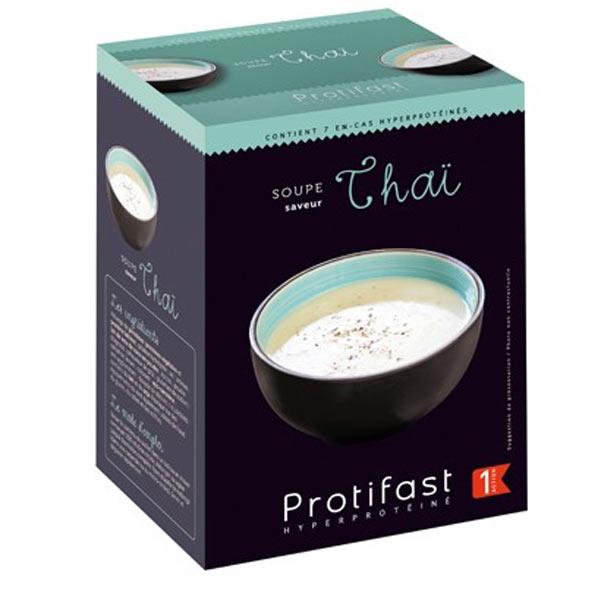Protifast Soupe Hyperprotéinée Thaï 7 sachets