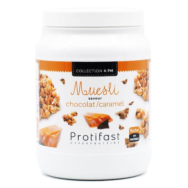 Protifast En-Cas Hyperprotéiné Muesli Chocolat Caramel Pot 450g