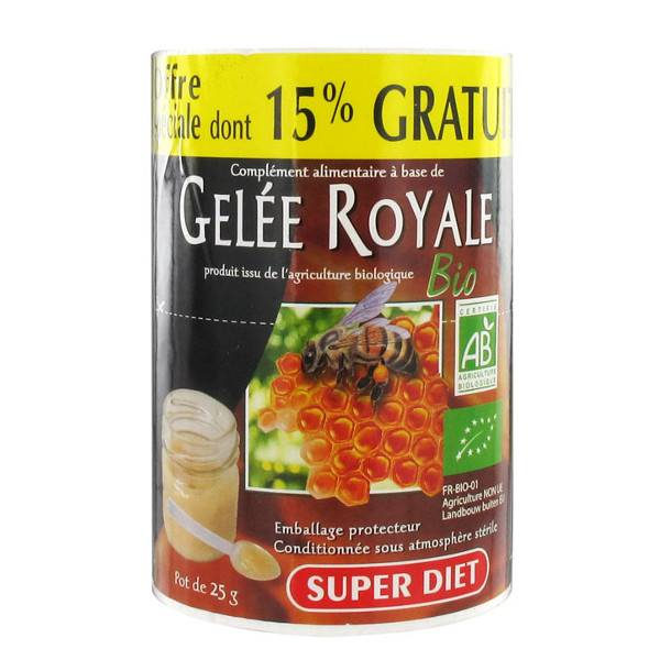 SuperDiet Super Diet Gelée Royale 25g dont 15% Offert