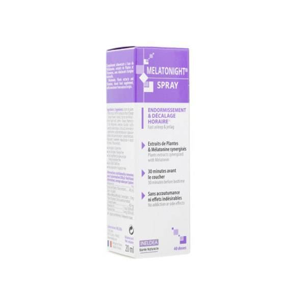 Ineldea Santé Naturelle Melatonight Spray 20ml