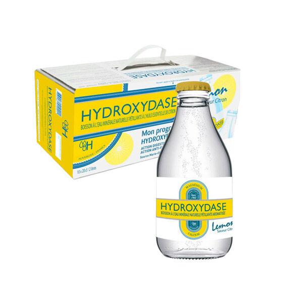 Hydroxydase Eau minérale Naturelle Gazeuse Citron 10 x 20cl