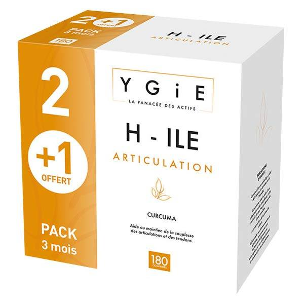 Ygie H-ILE Articulation Lot de 3 x 60 comprimés